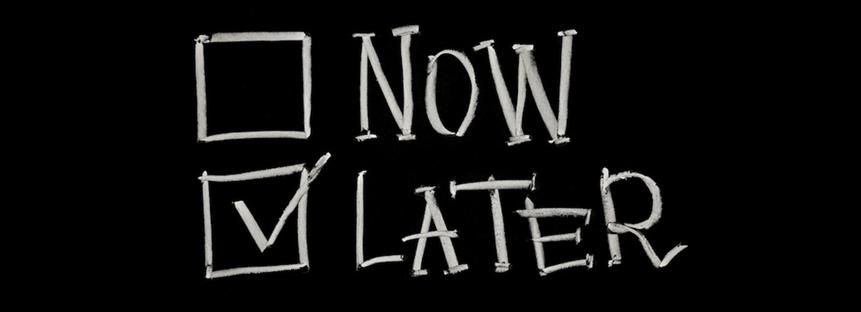 Réunion des procrastinateurs (date à définir)